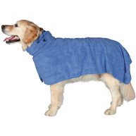 Trixie Blue Bathrobe for Dogs Large - 60cm