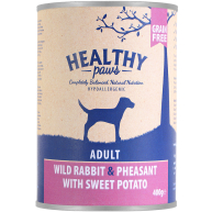 Healthy Paws Complete Wild Rabbit & Pheasant Adult Dog Food