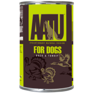 AATU Duck & Turkey Wet Dog Food 400g x 6