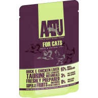 AATU For Cats Duck & Chicken Liver Wet Pouches 85g x 16
