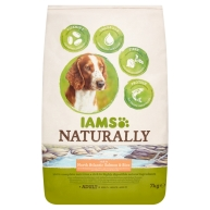 Iams Naturally North Atantic Salmon & Rice Adult Dog Food 7kg