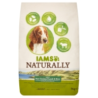 Iams Naturally New Zealand Lamb & Rice Adult Dog Food 7kg