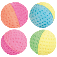 Trixie Soft Foam Balls Cat Toy 4 Balls