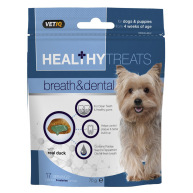Mark & Chappell VetIQ Breath & Dental Healthy Treats for Dogs & Puppies