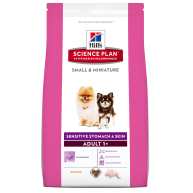 Hills Science Plan Canine Adult Small & Mini Sensitive Stomach & Skin Dog Food 1.5kg