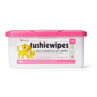 Petkin Tushie Wipes  100 pack