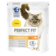 Perfect Fit Turkey Sensitive Cat Food 750g