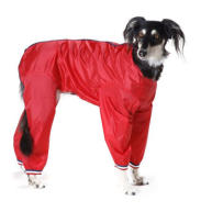Cosipet Trouser Suit Dog Coat Red