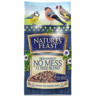 Natures Feast High Energy No Mess Wild Bird Food 12.75kg