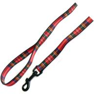 Ancol Red Tartan Dog Lead