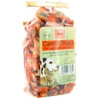 Burns Carrot Treats for Dogs, Rabbits, Guinea Pigs 100g