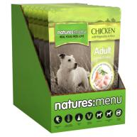 Natures Menu Chicken With Veg & Rice Adult Dog Food Pouches 300g x 8