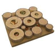 Rosewood Boredom Breaker Chew Tubes Maze-a-log Treat Challenge