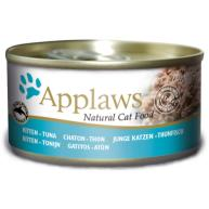 Applaws Tuna Can Kitten Food 70g x 24