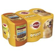 Pedigree Meaty Meals in Jelly Adult Dog Food 400g x 6