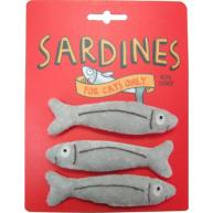 Happy Sardine Catnip Cat Toy