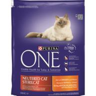 Purina ONE Chicken Neutered Cat Adult Food 800g