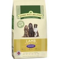 James Wellbeloved Lamb & Rice Senior Dog Food 15kg