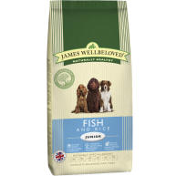 James Wellbeloved Fish & Rice Junior Dog Food
