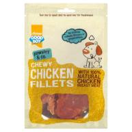 Good Boy Pawsley & Co Chicken Fillets Dog Treats 80g
