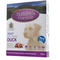Natures Harvest Duck with Brown Rice Adult Dog Food 395g x 10