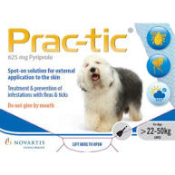 Prac-tic Spot On Flea Treatments for Dogs