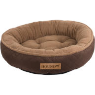 Hound Donut Dog Bed Brown