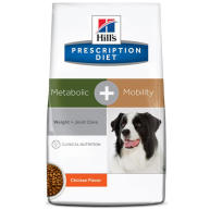 Hills Prescription Diet Metabolic + Mobility & Joint Care Chicken Dry Dog Food 4kg