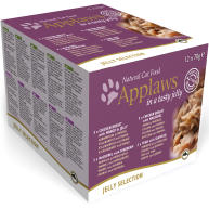 Applaws Jelly Selection Multipack Can Adult Cat Food 70g x 12