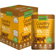 Natures Menu Country Hunter Chicken Adult Cat Food Pouches 85g x 6