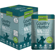 Natures Menu Country Hunter Duck & Pheasant Adult Cat Food Pouches 85g x 6