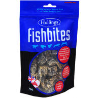 Hollings Fish Bites Dog Treats 75g
