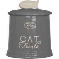 Banbury & Co Ceramic Cat Treat Storage Jar