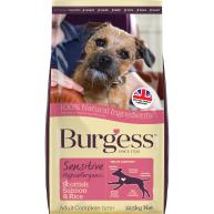 Burgess Complete Sensitive Salmon Adult Dog Food 12.5kg