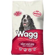 Wagg Complete Beef & Vegetable Adult Dog Food 12kg