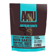 AATU Salmon & Sardine Artisan Bakes Dog Treats 150g