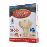 Natures Harvest Chicken & Brown Rice Senior Dog Food 395g x 10