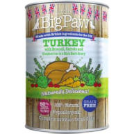 Little Big Paw Turkey Broccoli & Cranberry Dog Food 390g x 12