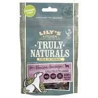Lilys Kitchen Truly Naturals Venison Sausages Adult Dog Treats