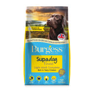 Burgess Supadog Complete Light Chicken Adult Dog Food 12.5kg