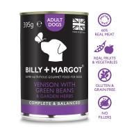 Billy & Margot Venison Complete Adult Dog Food