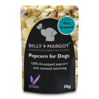 Billy & Margot Popcorn for Dogs