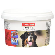 Beaphar Top 10 Multi-Vitamin Tablets for Dogs 180 Tablets