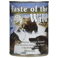 Taste Of The Wild Pacific Stream In Gravy Adult Dog Food 390g x 12