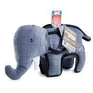 """Sharples Pet Tuff Elephant Dog Toy 14.5"""""""