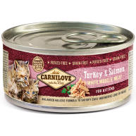 Carnilove White Muscle Meat Turkey & Salmon Kitten Food 100g x 6