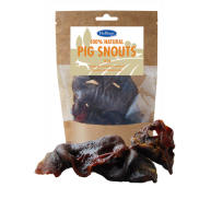 Hollings Pig Snouts Natural Dog Treats 120g