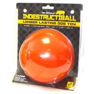 Happy Pet Indestructiball Dog Toy Orange - Small