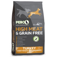 Pero High Meat & Grain Free Turkey, Sweet Potato & Cranberry Adult Dog Food