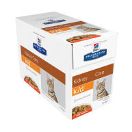 Hills Prescription Diet Feline KD Pouches 85g x 96 Chicken